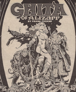 Frank Thorne's Ghita of Alizarr