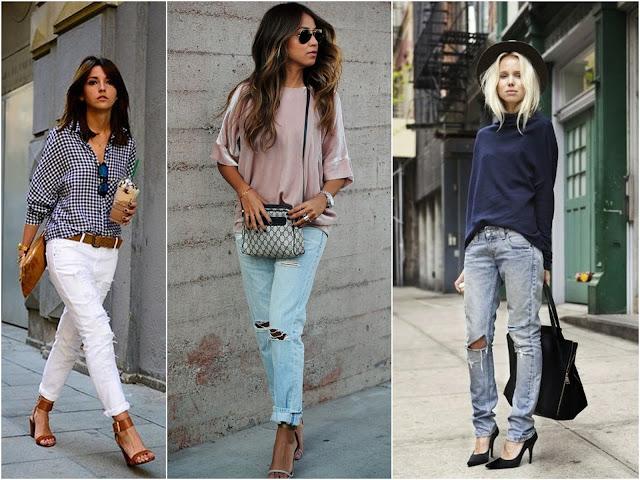 широкие джинсы женские