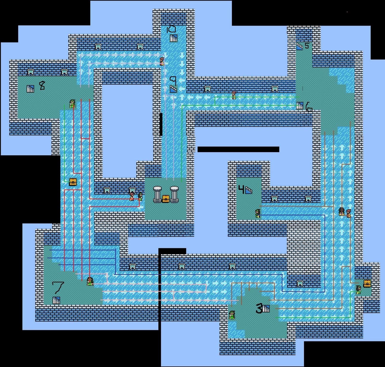 Lifely listings byond game nestalgia guide for Floor 5 boss map