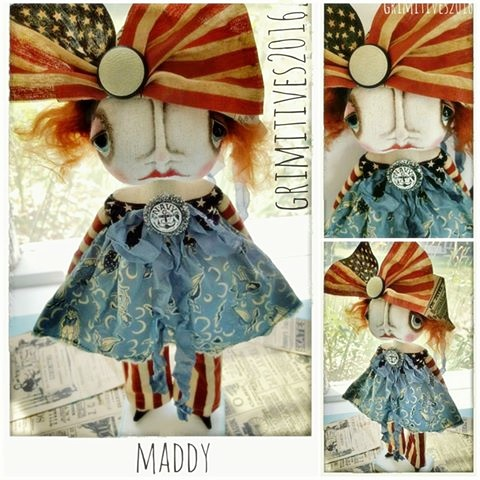 Maddy Americana Doll / $210.00 with free shipping within the U.S.
