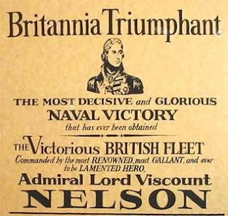 Admiral Nelson Victory Poster Battle of Trafalgar