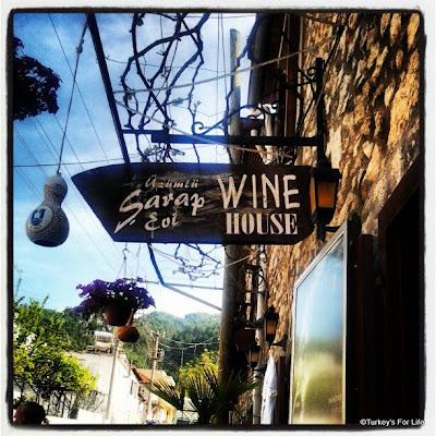 Üzümlü Wine House, Şarap Evi