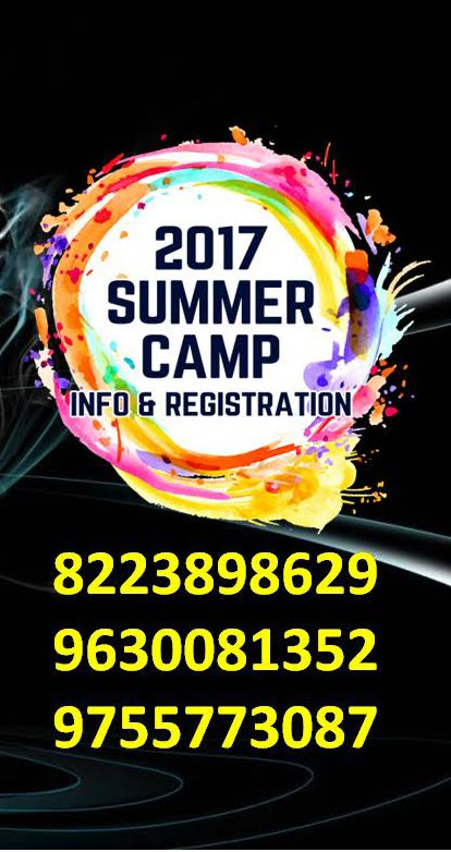 Contact for Summer Camp Registration