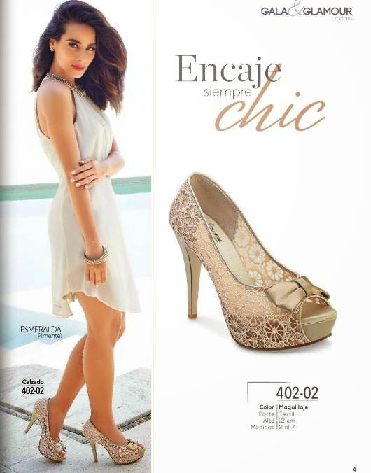 Zapatos con Encaje Gala & Glamour PV 2015