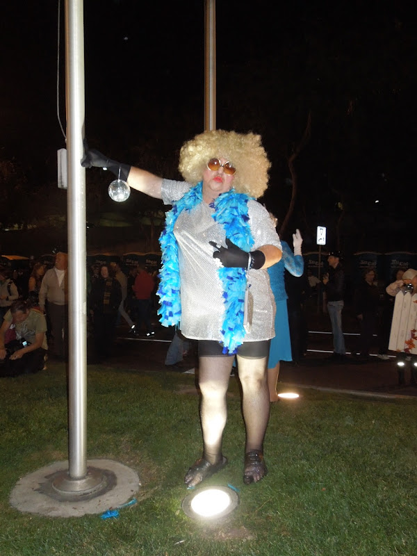 West Hollywood Halloween Carnaval drag 2012