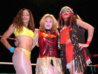 Diana La Cazadora, Josseline and India Sioux