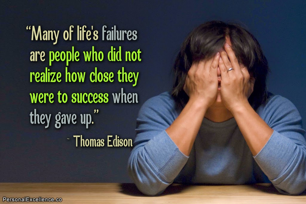 Failure quotes for image