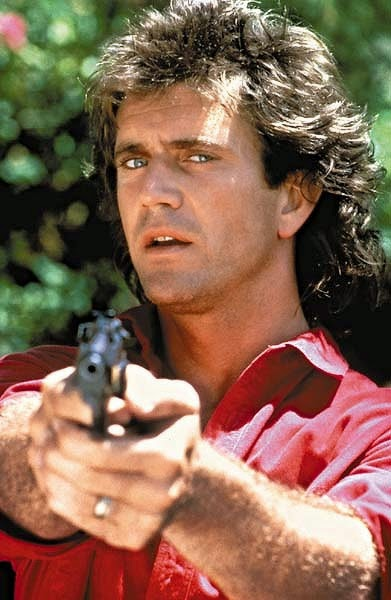 Tommy Mondello... aka Mel Gibson as Martin Riggs in the movie Lethal Weapon