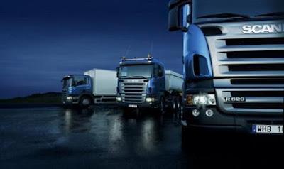 transporte terrestre, camiones, camiones scania