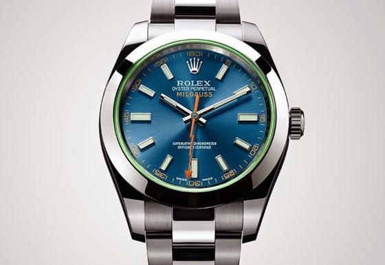 Rolex milgauss 2014 for Sorelle ronco rolex