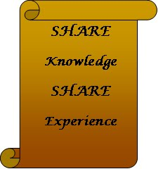 SHARE Knowledge SHARE Experience