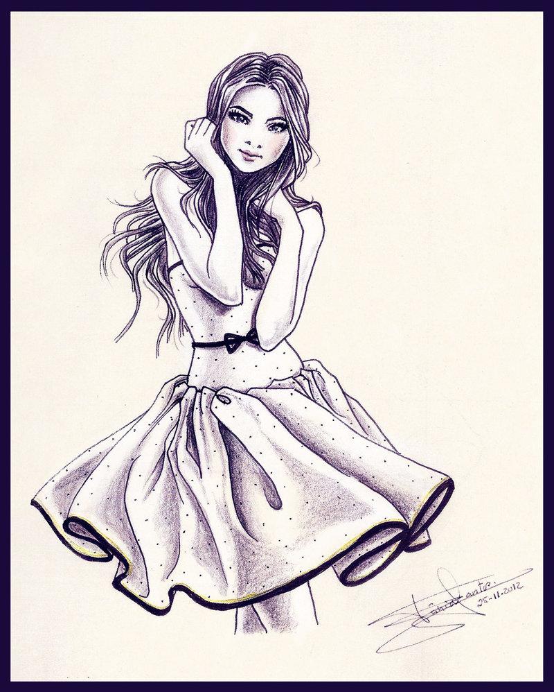 Top Garota Diferente: Desenhos e Pinturas de Garotas DV17