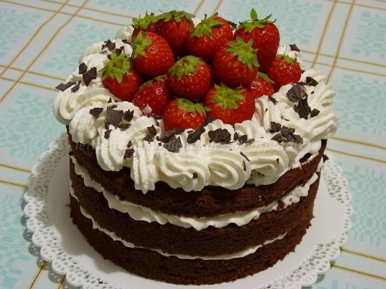 Ricette di torte al cioccolato e fragole