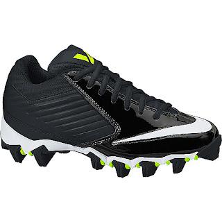 Sports authority coupon 25%: Nike Boys' Vapor Shark Low Football Cleats