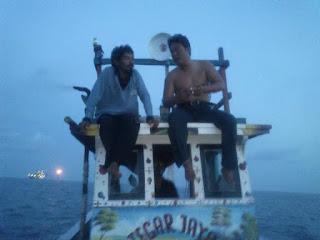 Kapal mancing p seribu