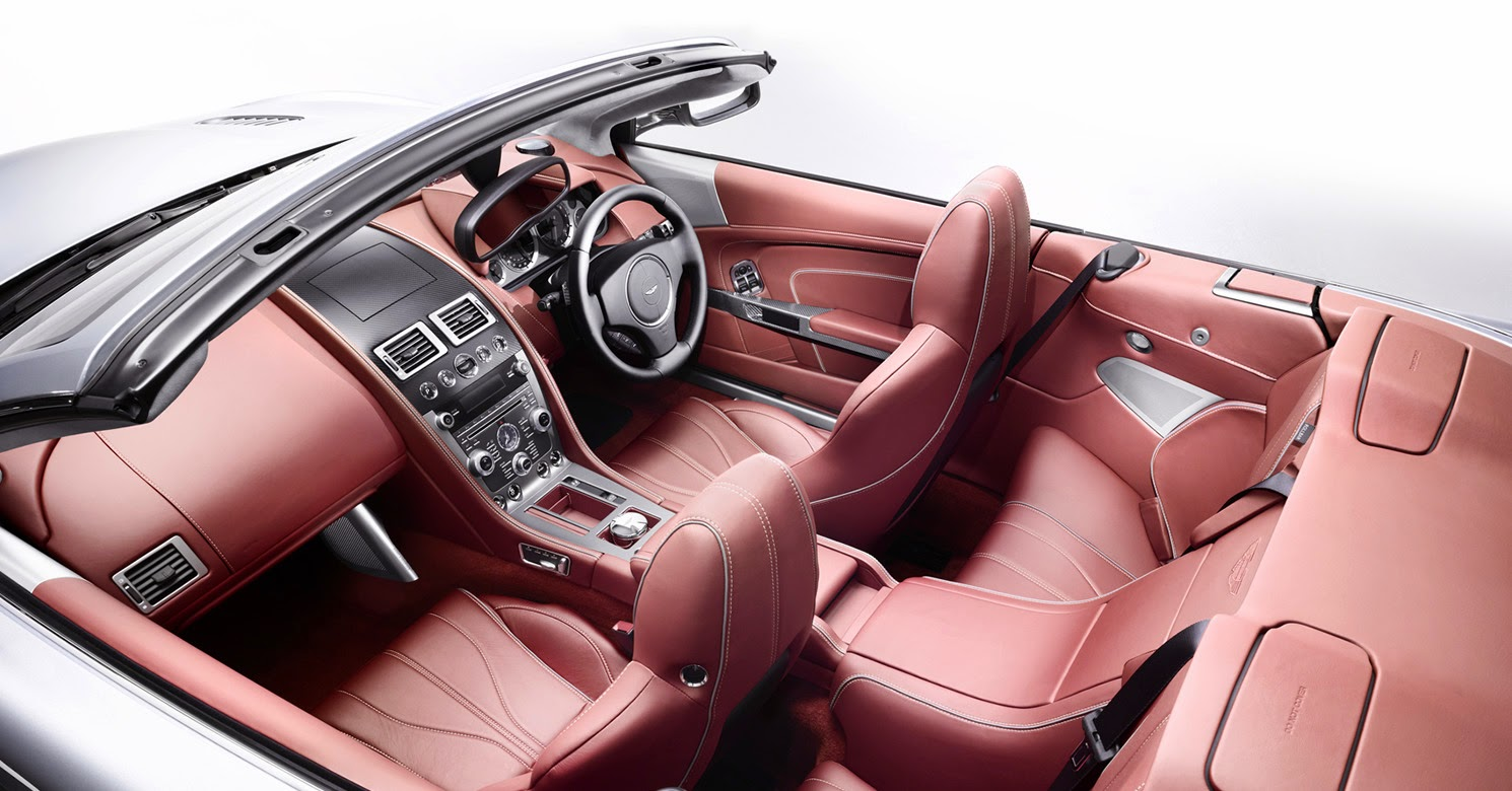 The New 6.0 litre V12 Aston Martin DB9 Volante Interior