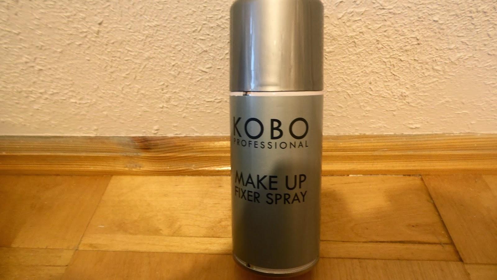 KOBO Professional - MAKE UP FIXER SPRAY  przepis--nazycie.pl