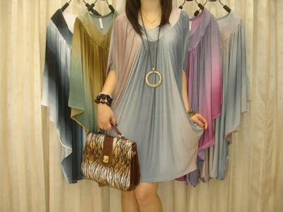 mini dress atasan bahan spandex
