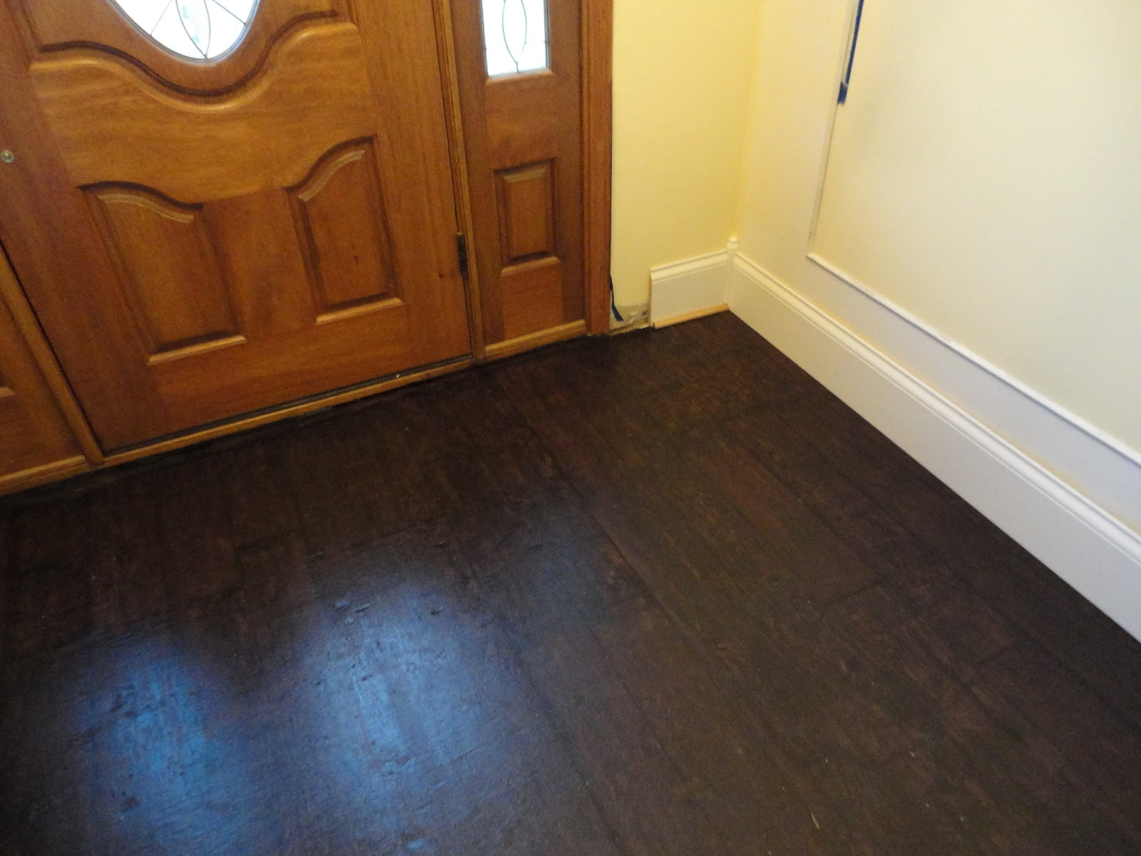 General Splendour Foyer Makeover Painted Hardwood