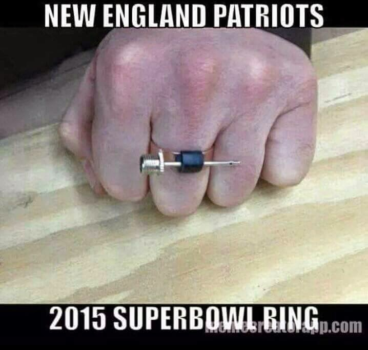 New england patriots 2015 superbowl ring