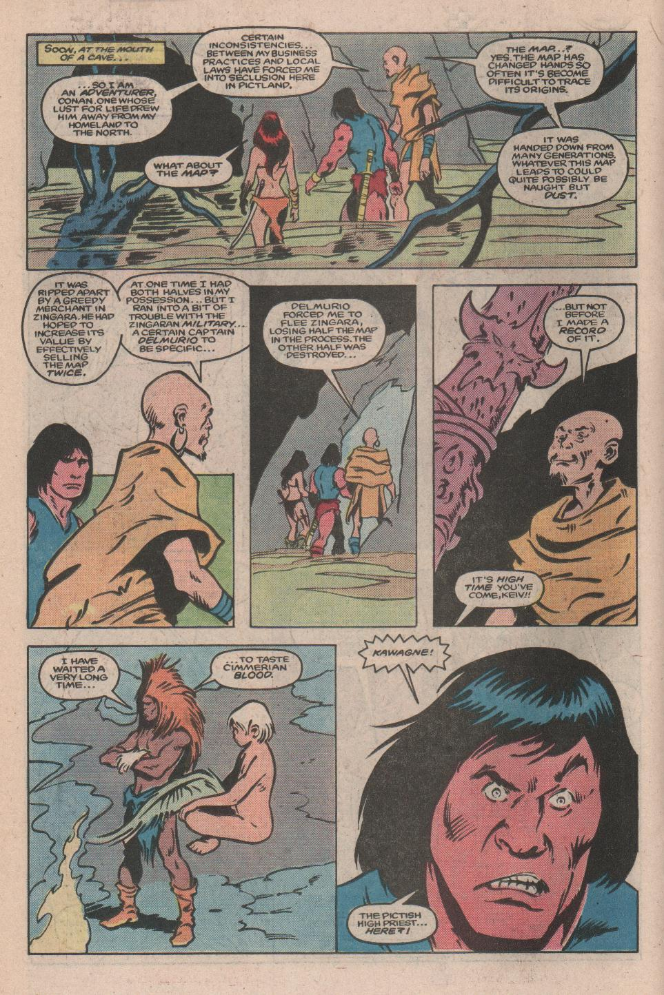 Conan the Barbarian (1970) Issue #173 #185 - English 13