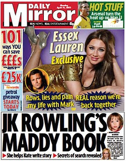 Rowling denies helping Kate to write the book Mirror2