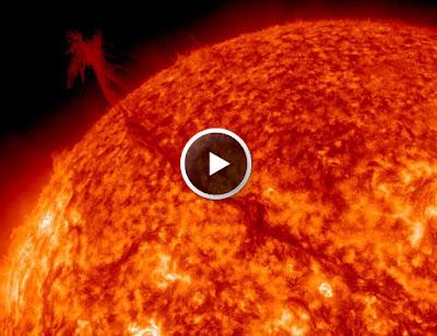 actividad solar 14 de Noviembre 2011