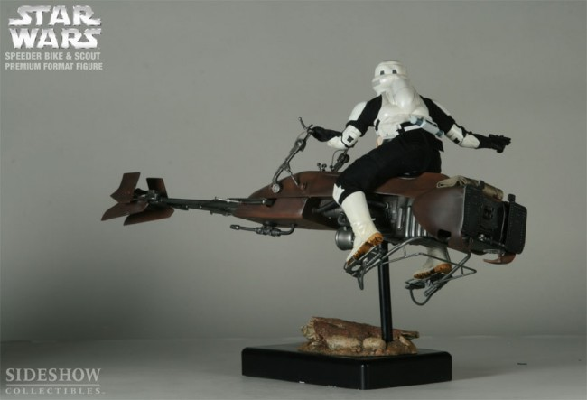 Blog Fossil Games Sideshow Speeder Bike And Scout Trooper Premium