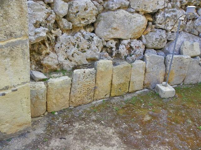 Detalles del tallado en los Templos de Ggantija