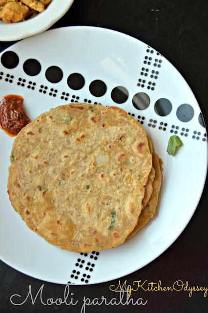 mooli paratha recipe1