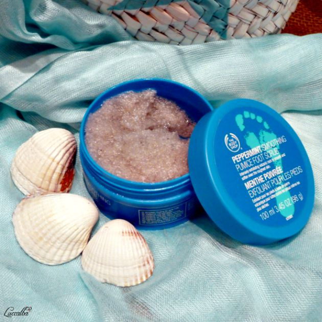 PEPPERMINT SMOOTHING PUMICE FOOT SCRUB