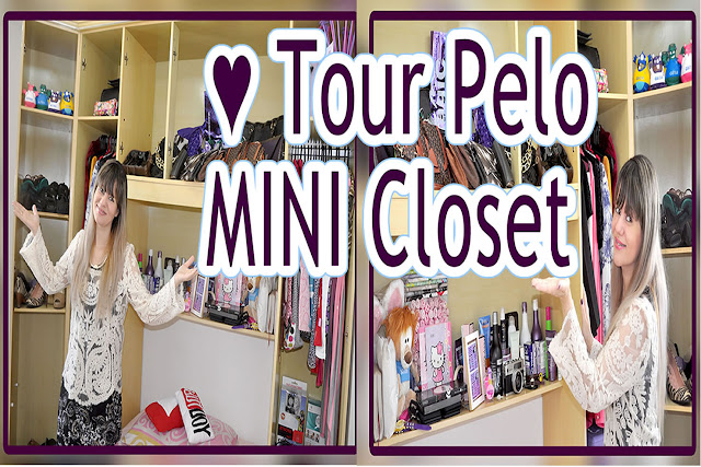 Blog Roxachic: ♥ TOUR Pelo MINI CLOSET