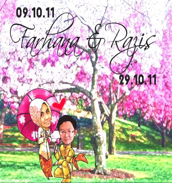 KISAH CINTA BUDAK COMOT & BUDAK MATA EMPAT GARDEN SAKURA WEDDING VS GREEN GARDEN WEDDING