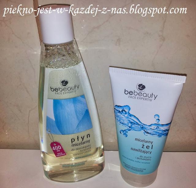 BeBeauty, płyn micelarny i micelarny żel myjący