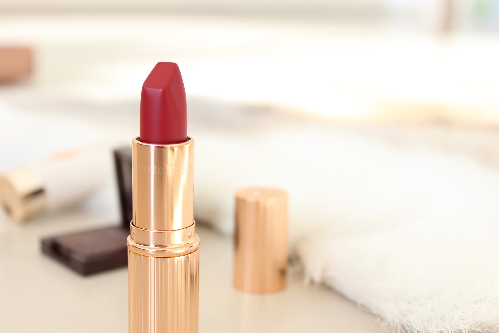 Charlotte Tilbury Red Carpet Red Lipstick Review and Swatches