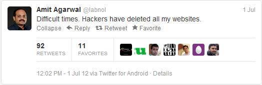 Labnol Hacked