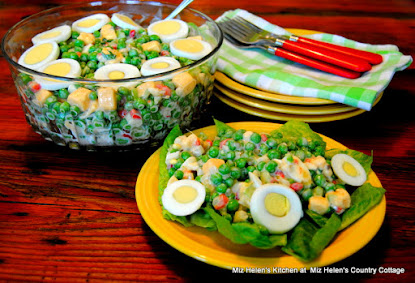 Nana's Green Pea Salad