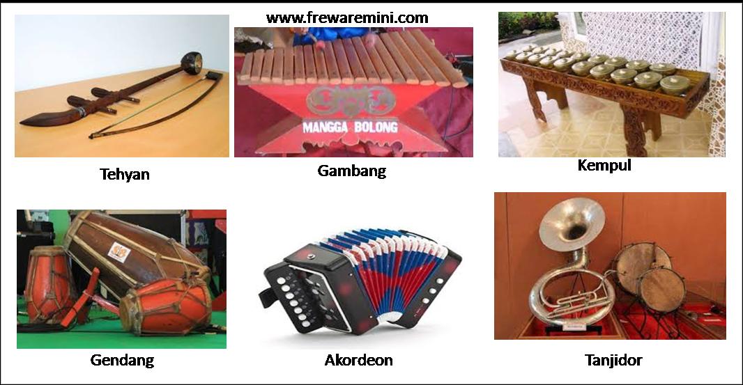 Alat musik tradisional Jakarta [Betawi]