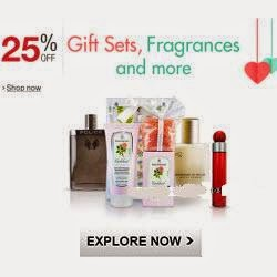 Amazon: Buy Gift Sets and Fragrances minimum 25% off from Rs. 242