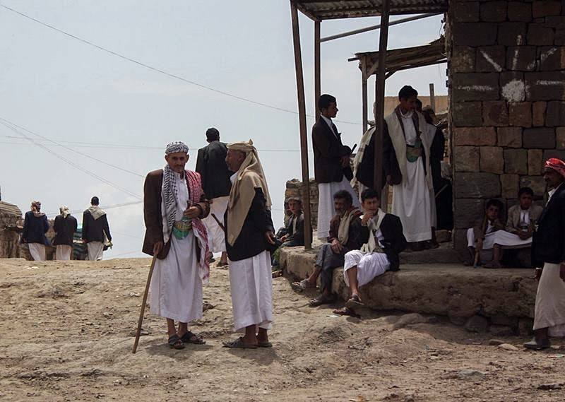 Al Hajjarah   Ancient Village on a Cliff, Yemen