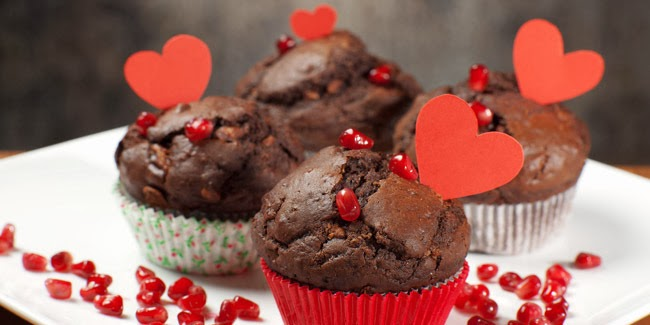 Resep Cara Membuat Kue Cupcakes Cokelat Enak Ala Valentine