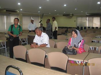 Majlis Taklimat Presiden Cuepacs kepada Kesatuan pada 8 April 2013 di Wisma Cuepacs Kuala Lumpur