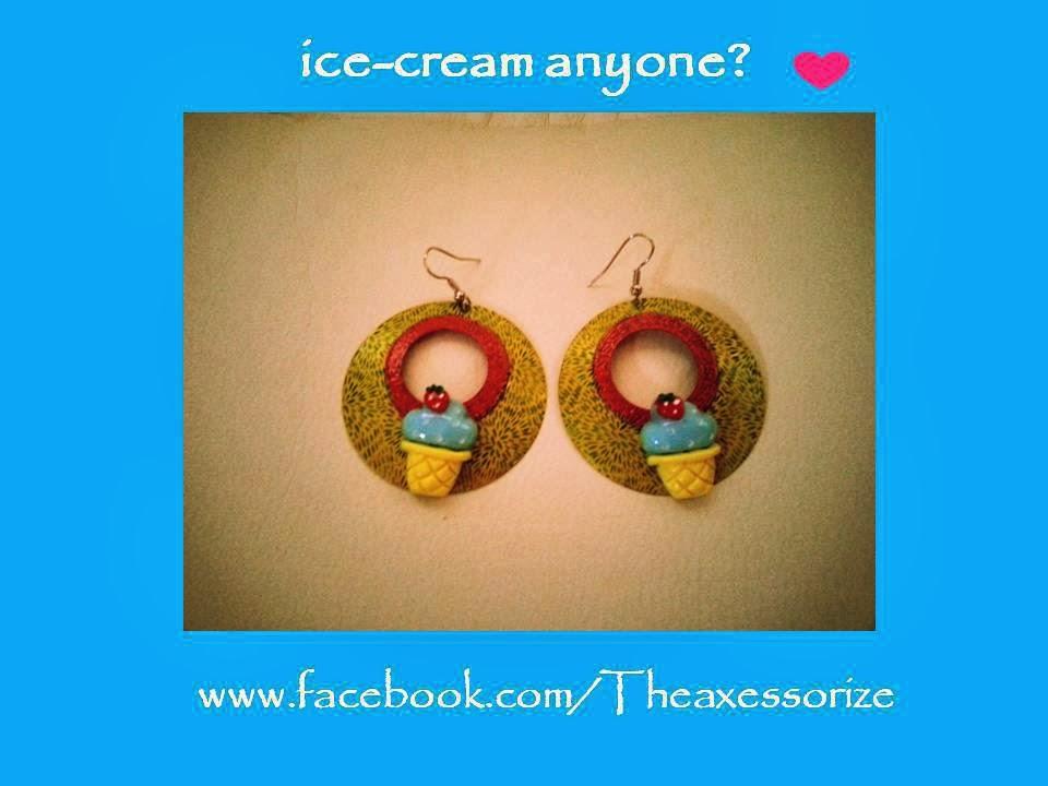 TheaXessorize Ice-Cream Earrings