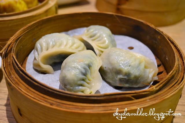 Vegetable Dumpling - Crystal Jade Shanghai Delight Weekday Dimsum Buffet