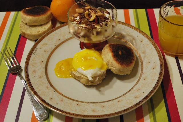 american breakfast.. for dinner