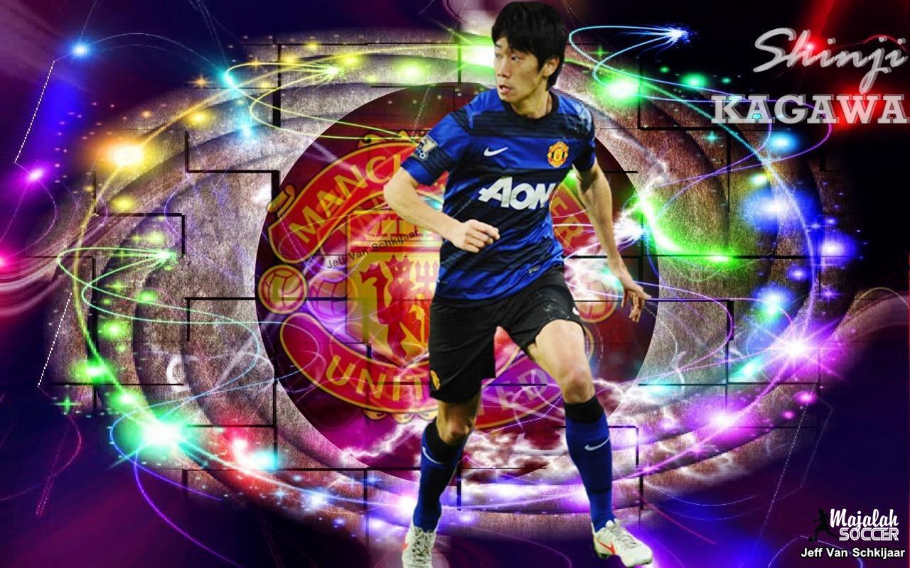 Wallpapers Shinji Kagawa Manchester United (MU) 2012-2013