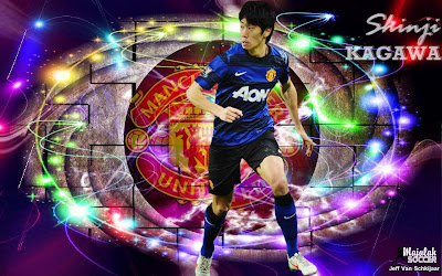 Wallpapers Shinji Kagawa Manchester United (MU) 2012-2013