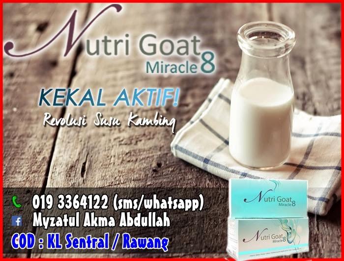 Pengedar Susu Kambing Nutri Goat Miracle 8