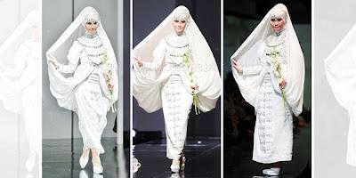 panduan memilih baju pengantin untuk muslimah Kumpulan Busana Pengantin Muslimah Terbaru