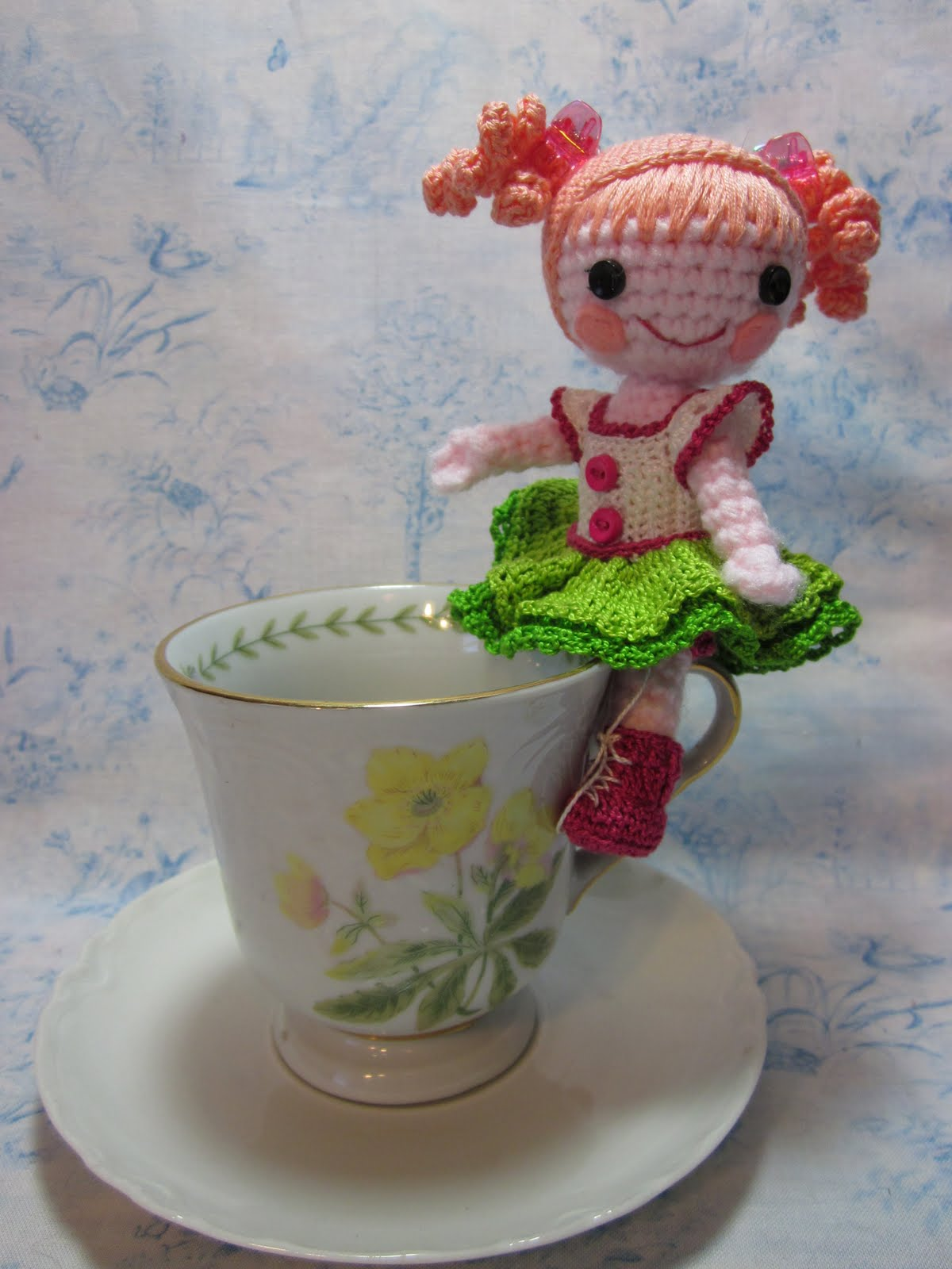 Crochet Spot » Blog Archive » Crochet Pattern: Tea Party Set